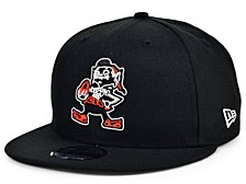 Little Boys Cleveland Browns Draft 9FIFTY Snapback Cap