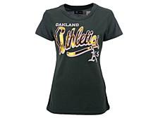 Women's Oakland Athletics Homeplate T-shirt
