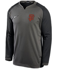 Men's San Francisco Giants Authentic Collection Thermal Crew Sweatshirt