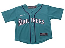 Seattle Mariners Toddler Official Blank Jersey