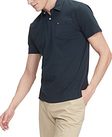 Men's Nevin Custom-Fit TH Cool Solid Pocket Polo Shirt