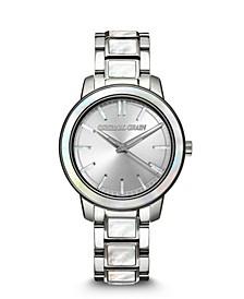 Women's Silver-Tone Stainless Steel Bracelet Watch 36mm