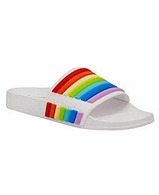 Juicy Couture Wynnie Rainbow Pool Slides