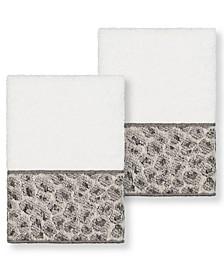 Textiles Spots 2 Piece Washcloth Set