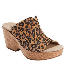 Women's Khaya Kiki Cork Wedge Sandal