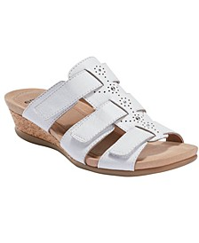 Women's Pisa Harwich Low Wedge Slide Sandal