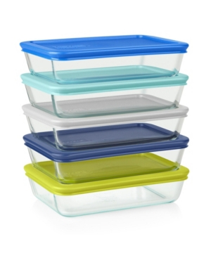 Pyrex Simply Store 10-Pc. Meal Prep Container Set