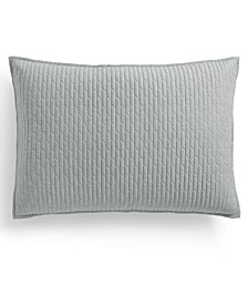 Bedford Geo Quilted King Sham