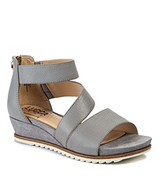 Fifi Treaded Wedge Sandals