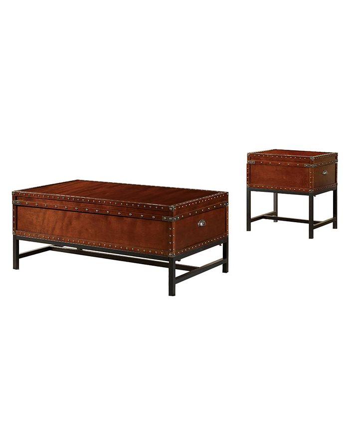 Furniture of America - Vannoy Coffee Table Set