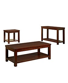 Granger Transitional 3-Piece Table Set