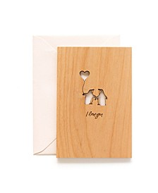 Peguin Love Card