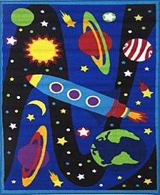 """Fun Time Galaxy 19"""" x 29"""" Area Rug"""