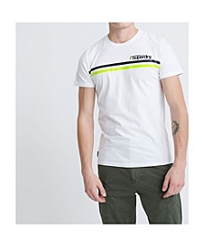 Men's Core Logo Sport Stripe T-shirt
