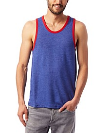 Men's Keeper Vintage-Like Jersey Ringer Tank Top