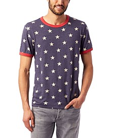 Men's Printed Ringer T-Shirt