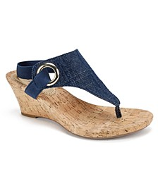 Women's Aida Cork Wedge Sandals