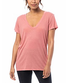 Slinky Jersey Women's V-Neck T-Shirt