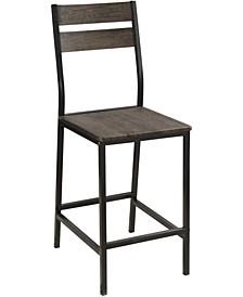 Damon Antique Brown Pub Chair (Set of 2)