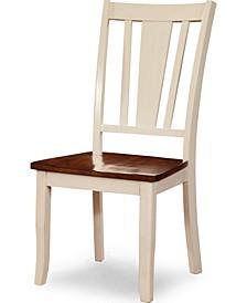 Yuxley Two-Tone Side Chair (Set of 2)