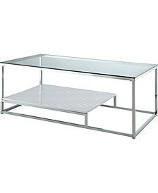 Nadia Glass Top Coffee Table