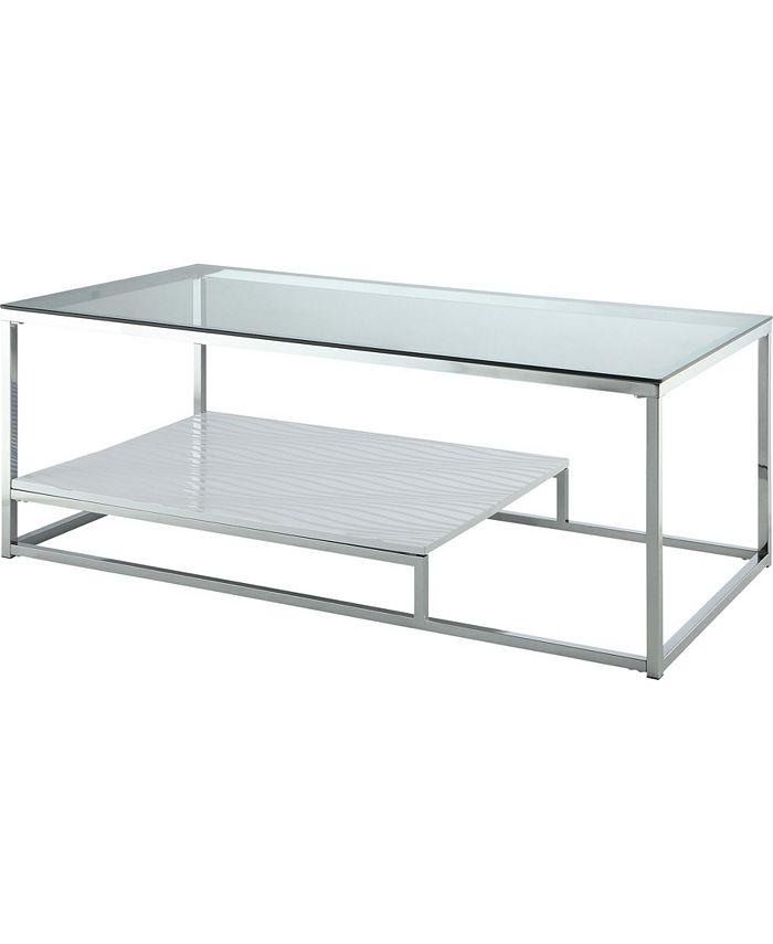Furniture of America - Nadia Coffee Table, Quick Ship