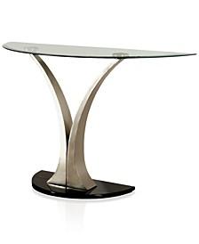 Mansa Glass Top Sofa Table