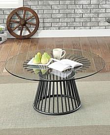 Sura Glass Top Coffee Table