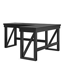 Huntsville Lift Top L Desk