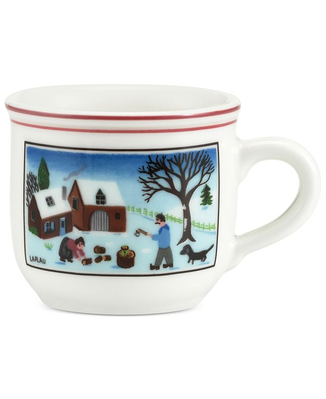 Villeroy & Boch Design Naif Christmas After-Dinner Cup