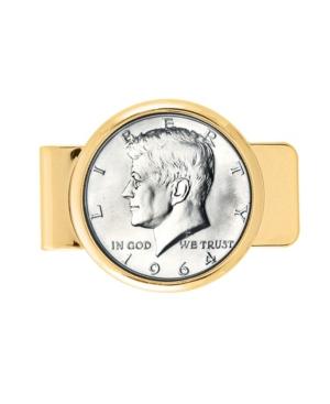 1964 First-Year-Of-Issue Silver Jfk Half Dollar Coin Money Clip