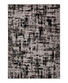 "Illusions Simmons Black 7'10"" x 10'10"" Area Rug"