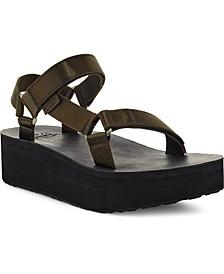 Women's Flatform Universal Satin Sandals