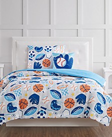 All Star Full 4 Piece Comforter Set