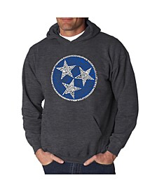 Men's Tennessee Tristar Word Art Hooded Sweatshirt