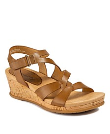 Freesia Wedge Sandals