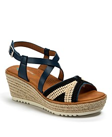 Ethel Posture Plus+ Platform Wedge Sandals
