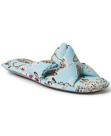 Women's Angela Paisley Twist Slide Slipper