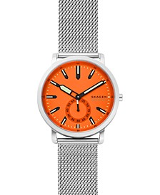 Men's Colden Stainless Steel Mesh Bracelet Watch 40mm