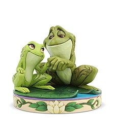 Tiana and Naveen As Frogs Figurine