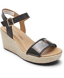 Women's Lyla Two-Piece Wedge Sandals