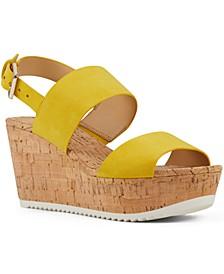 Dera Platform Wedge Sandals