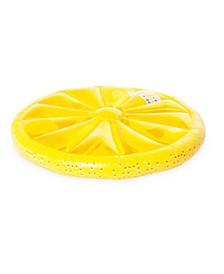 Inflatable Heavy-Duty Swimming Pool Lemon Slice Float