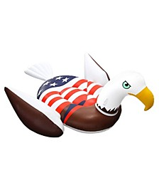 90700 Inflatable American Bald Eagle Giant Riding Patriotic Swimming Pool Float
