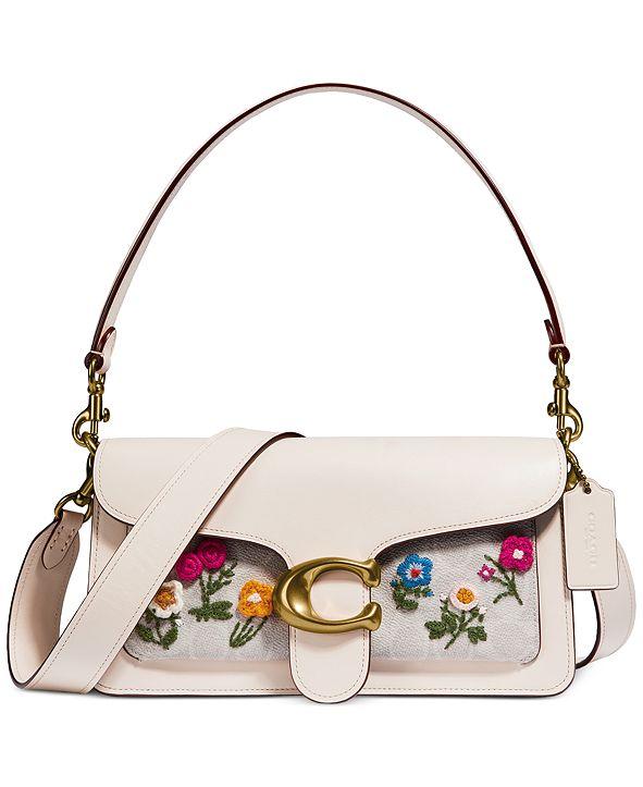 COACH Coated Canvas Tabby Floral Shoulder Bag