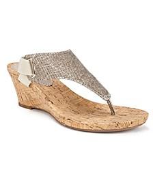 All Good Cork Women's Wedge Sandals