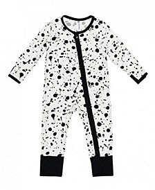 Baby Boys and Girls Bamboo Splash 2 Way Zippy Coverall