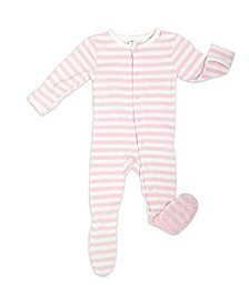 Baby Girls Organic Bamboo Footie