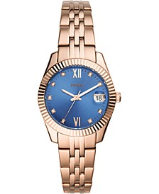 Women's Scarlette Mini Rose Gold-Tone Stainless Steel Bracelet Watch 32mm
