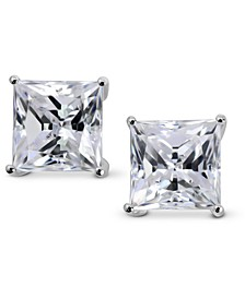 Swarovski Zirconia Square Stud Earrings